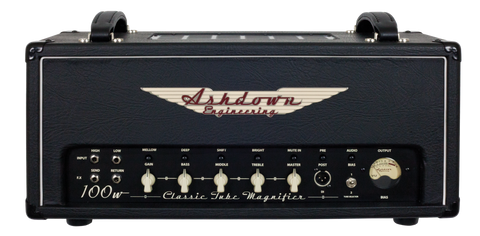 Ashdown CTM-100 Valve Bass Amp Head - Worcester Guitar Centre Guitar Shop