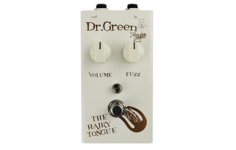 Hayden Dr. Green Hairy Tongue Dynamic Fuzz Pedal - Worcester Guitar Centre Guitar Shop