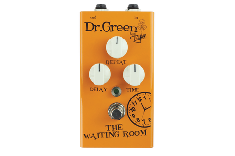 Hayden Dr. Green Waiting Room Digital Delay Pedal - Worcester Guitar Centre Guitar Shop