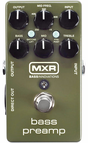 MXR M81 Bass Preamp Effects Pedal - Worcester Guitar Centre Guitar Shop