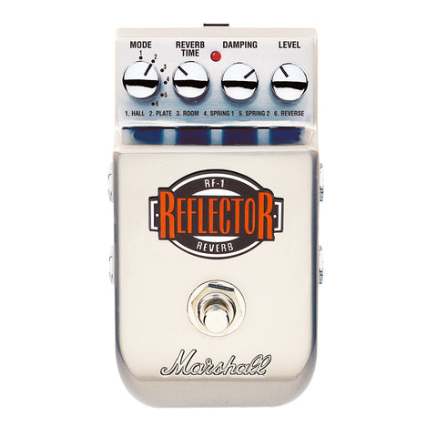 Marshall RF-1 The Reflector Reverb Pedal - Worcester Guitar Centre Guitar Shop