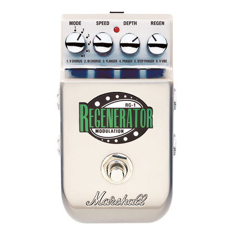 Marshall RG-1 The Regenerator Modulation Effects Pedal - Worcester Guitar Centre Guitar Shop