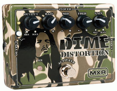 MXR DD11 Dime Distortion Guitar Effects Pedal - Worcester Guitar Centre Guitar Shop