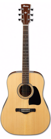Ibanez AW70-NT Acoustic Guitar Natural - Worcester Guitar Centre Guitar Shop - 1