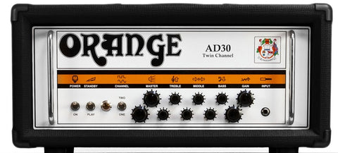 Orange AD30HTC Guitar Amp Head Black - Worcester Guitar Centre Guitar Shop