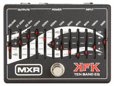 MXR KFK1UK Kerry King 10 Band EQ Guitar Pedal - Worcester Guitar Centre Guitar Shop
