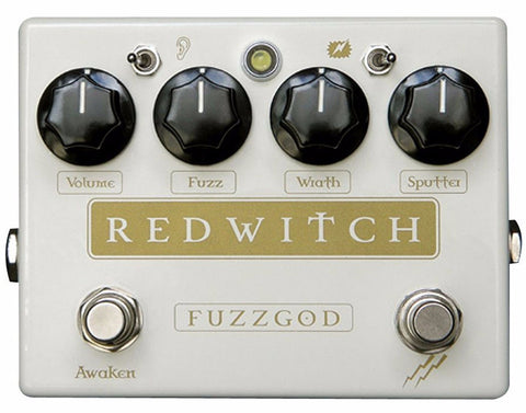 Red Witch Fuzz God II Pedal - Worcester Guitar Centre Guitar Shop