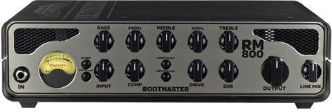 Ashdown Rootmaster RM-800 Bass Amp Head - Worcester Guitar Centre Guitar Shop
