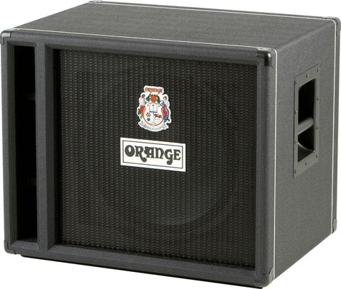 Orange OBC115 Bass Speaker Cabinet Black - Worcester Guitar Centre Guitar Shop