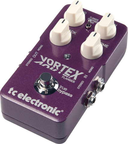 TC Electronic Vortex Flanger Guitar Pedal - Worcester Guitar Centre Guitar Shop