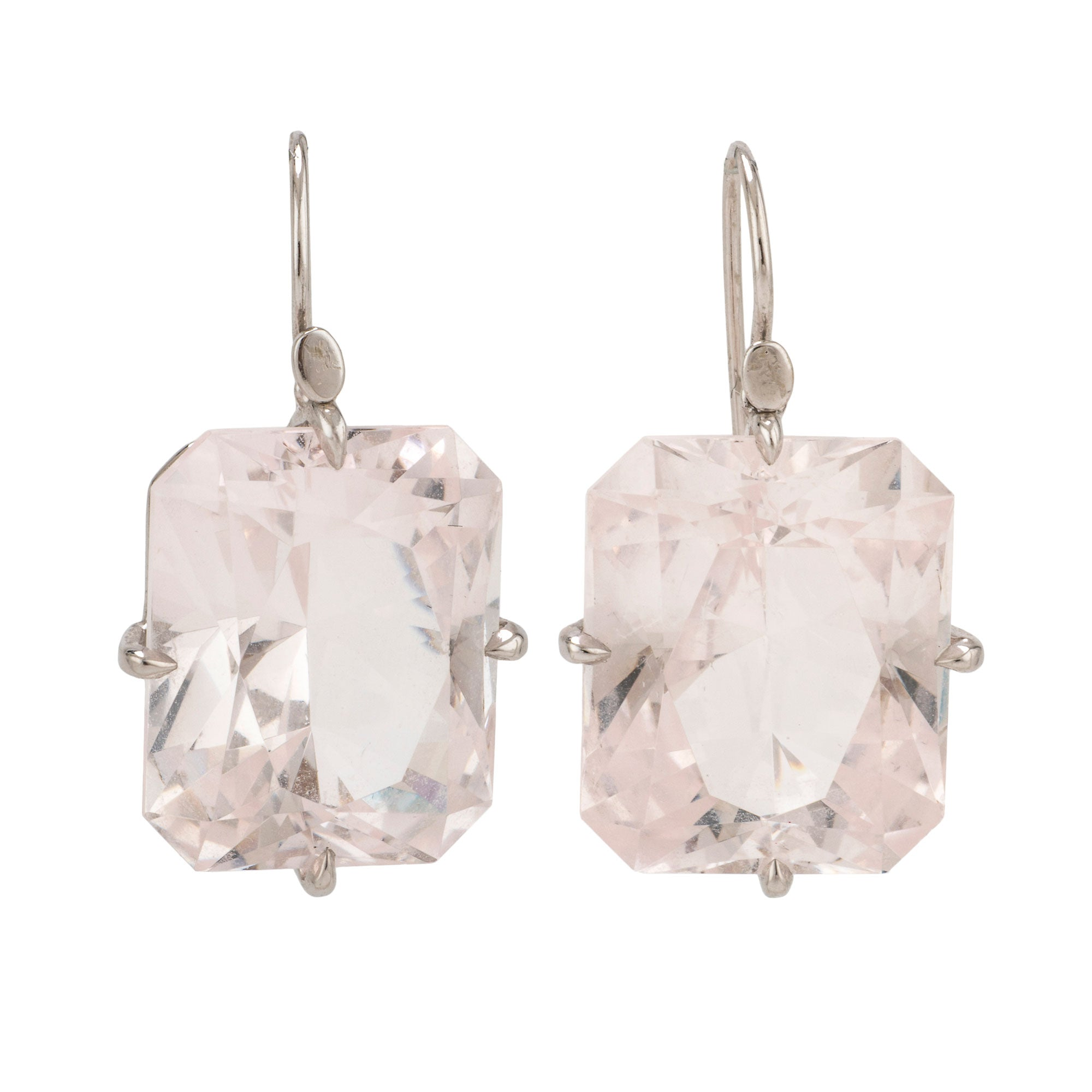 Czech i danburite earrings