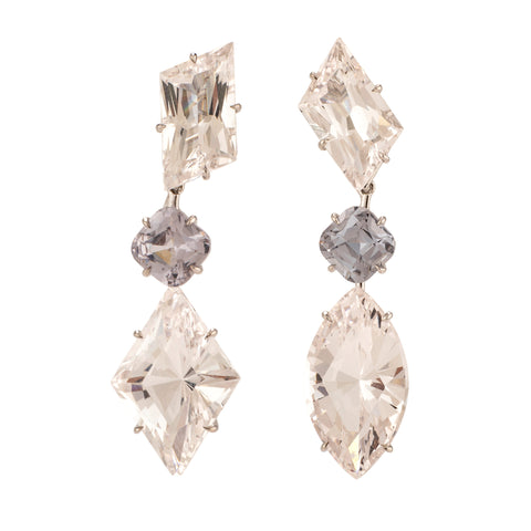 Winter iii danburite earrings