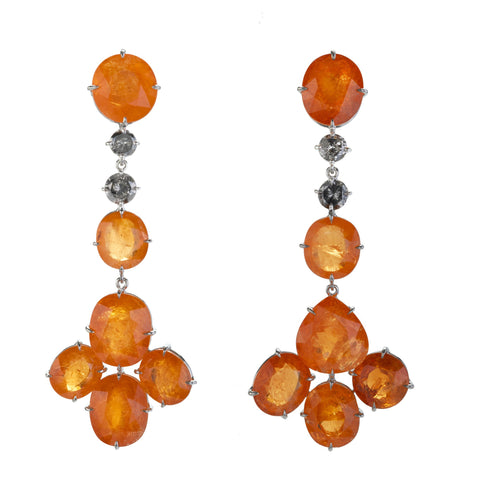 FAN VIII mandarin earrings