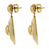 droplet ii 18k gold earrings
