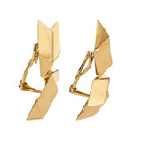 Bird iv gold earring