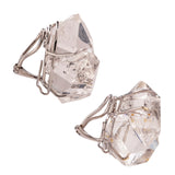natural i herkimer earring