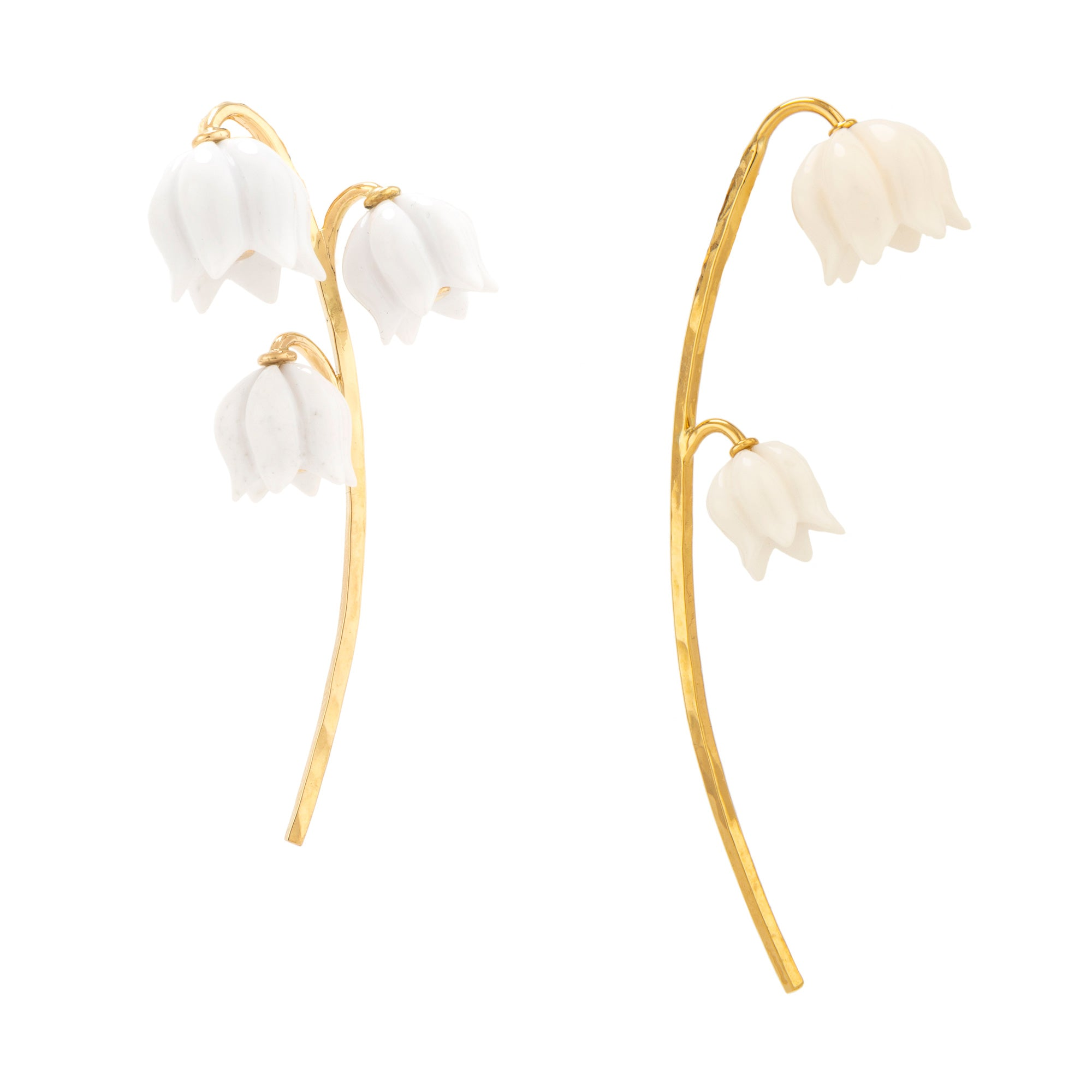 Lily iii opal earrings