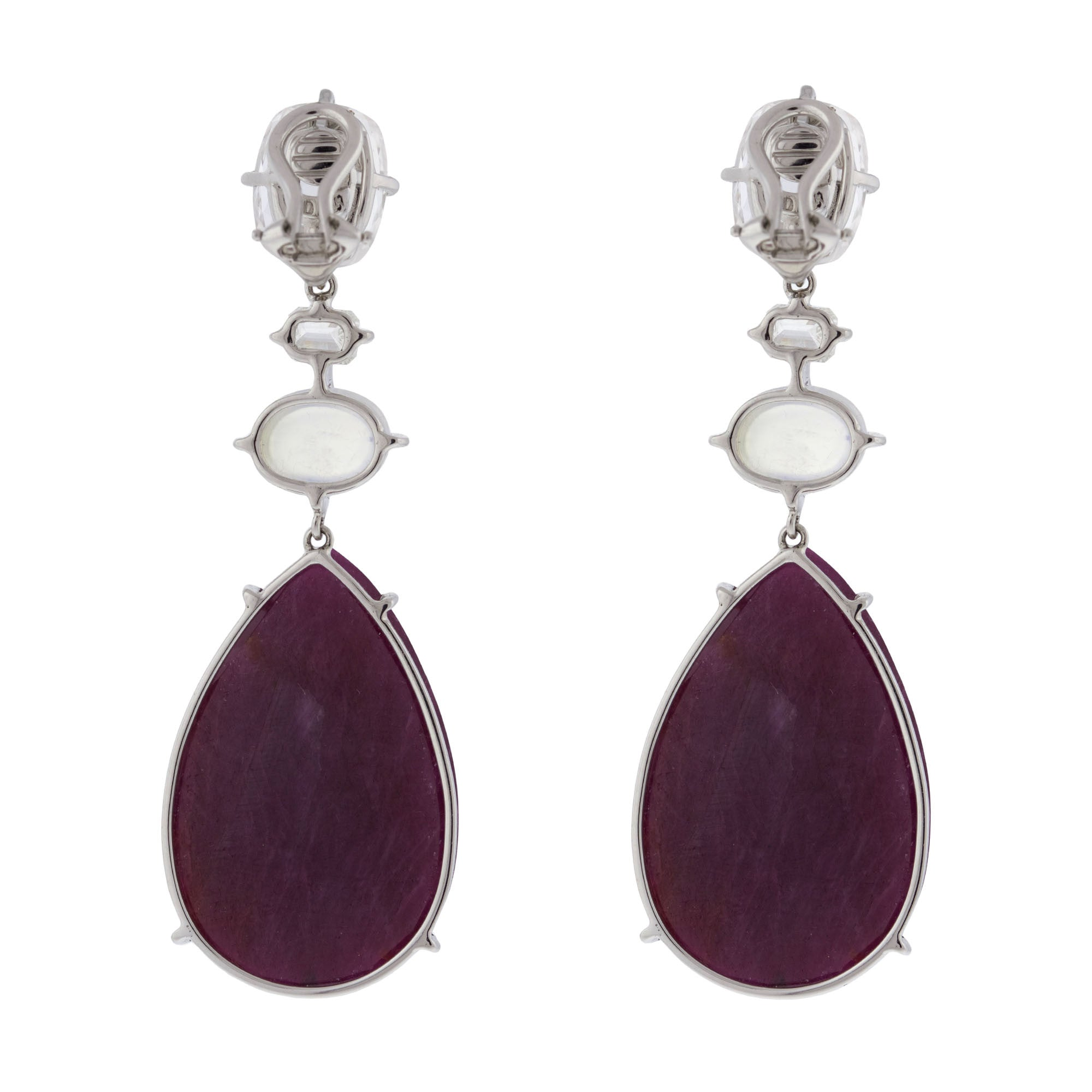 moon earrings products jewellery ruby new
