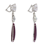FLAPPER IV ruby earrings