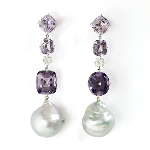 ANTOINETTE V spinel earrings