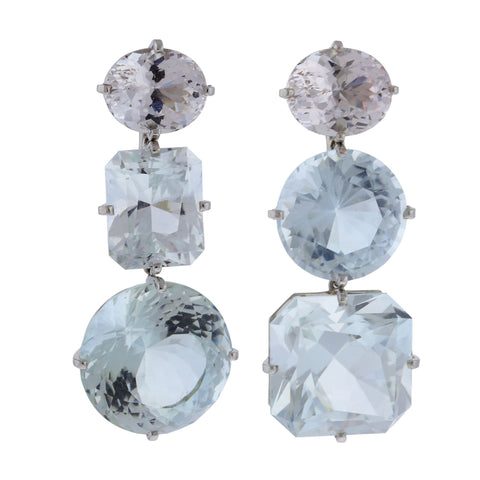 flapper iii topaz earrings