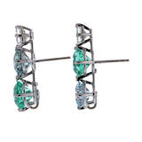Tourmaline IV pearl earrings