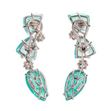 Avatar V tourmaline earrings