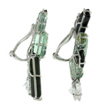 Burst VIII tourmaline earrings