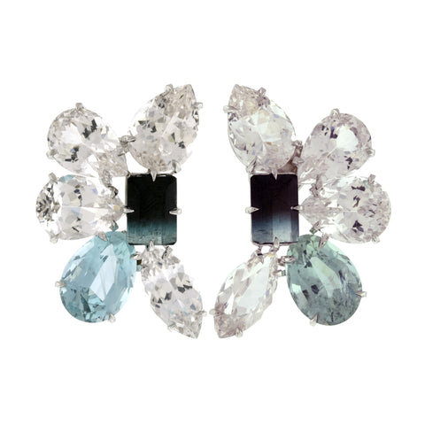 Burst VI tourmaline earrings