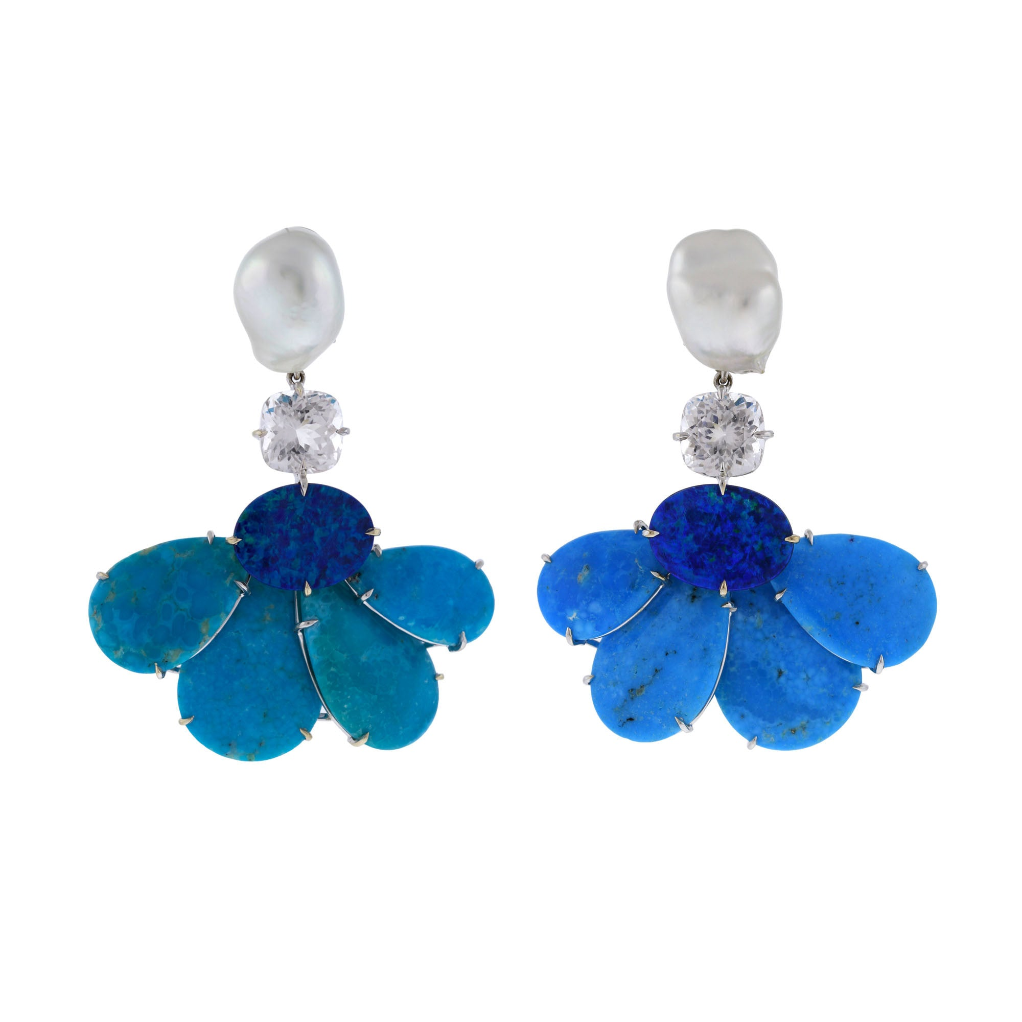 Duster VII turquoise earrings