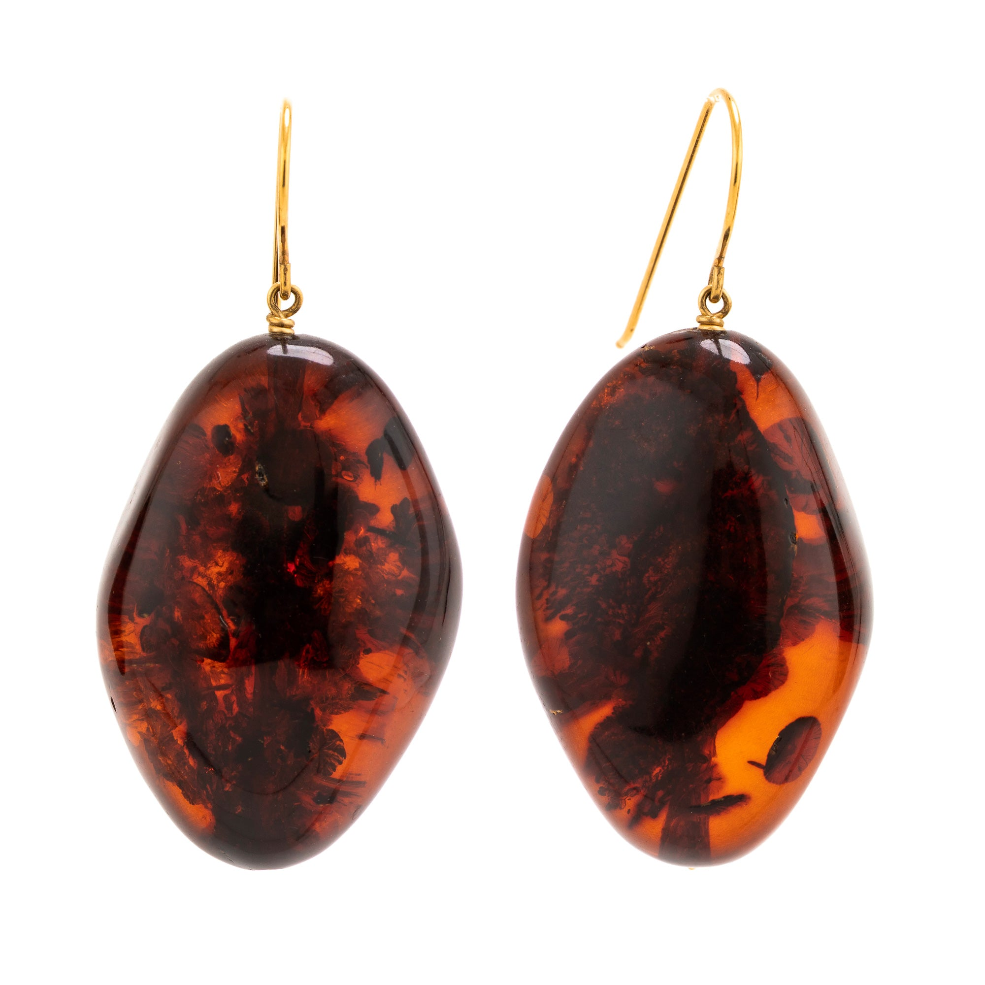 BALTIC I amber earrings