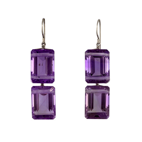REC II amethyst earrings