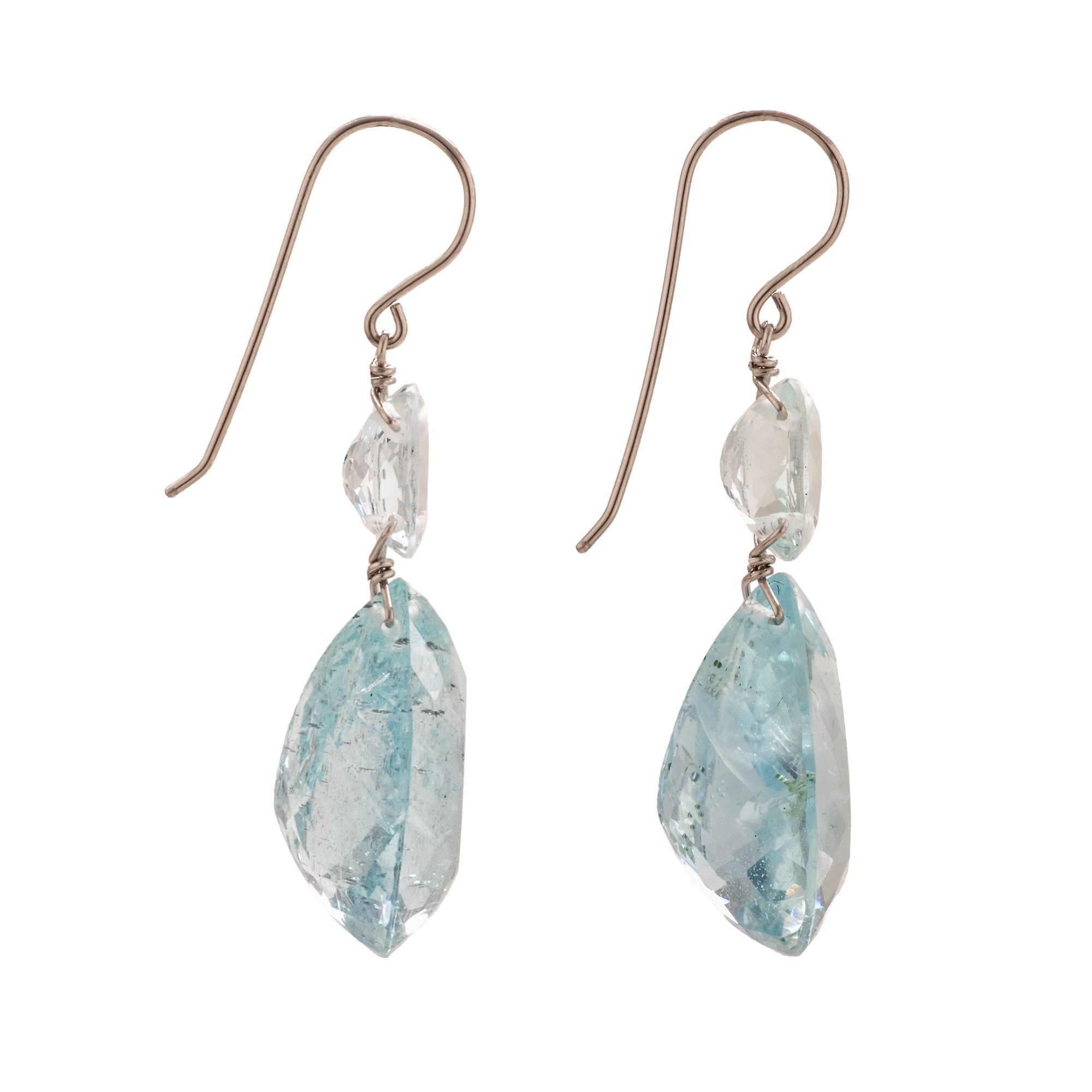160cbc3c0 Tear oval ii aquamarine earrings – Maja DuBrul Jewelry