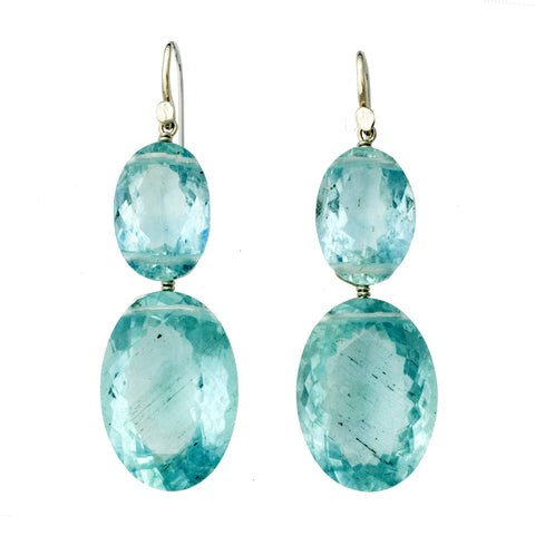 REINE II Aquamarine Earrings
