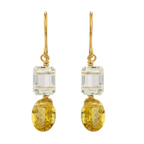 VAR II beryl earrings
