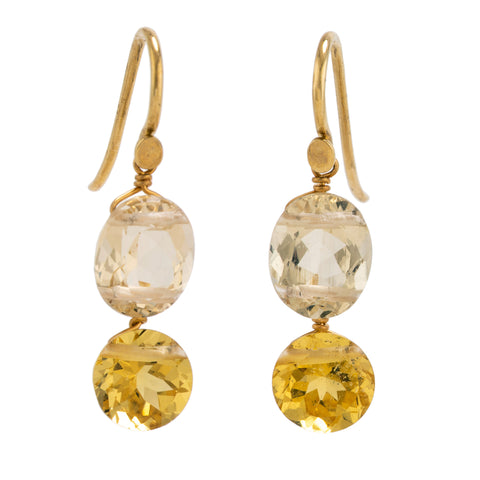 reine II beryl earrings
