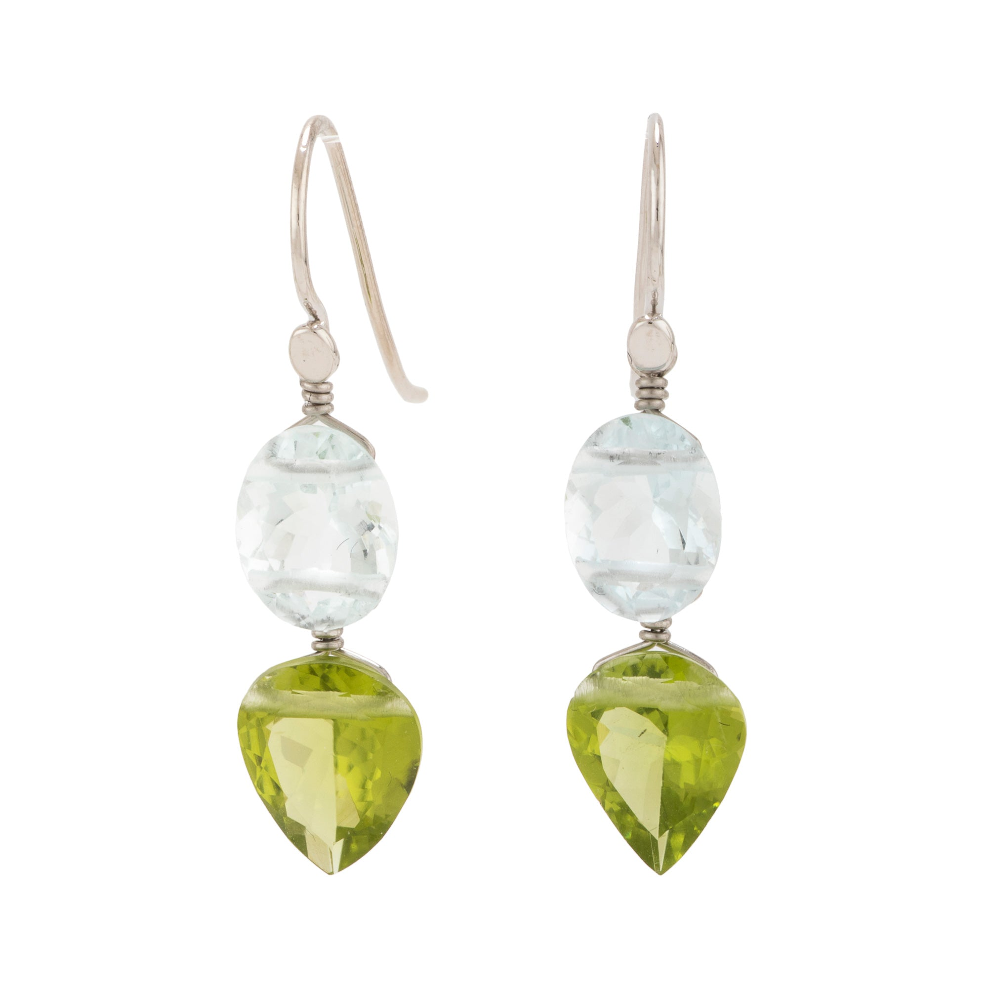 Spring ii peridot earrings