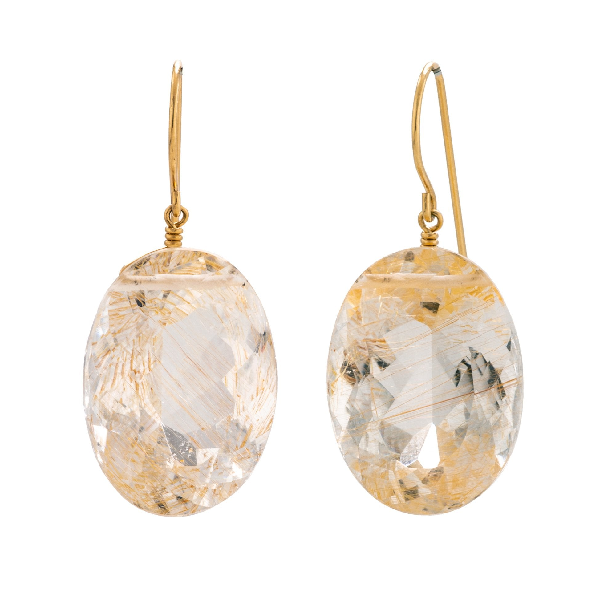 Glam i quartz earrings