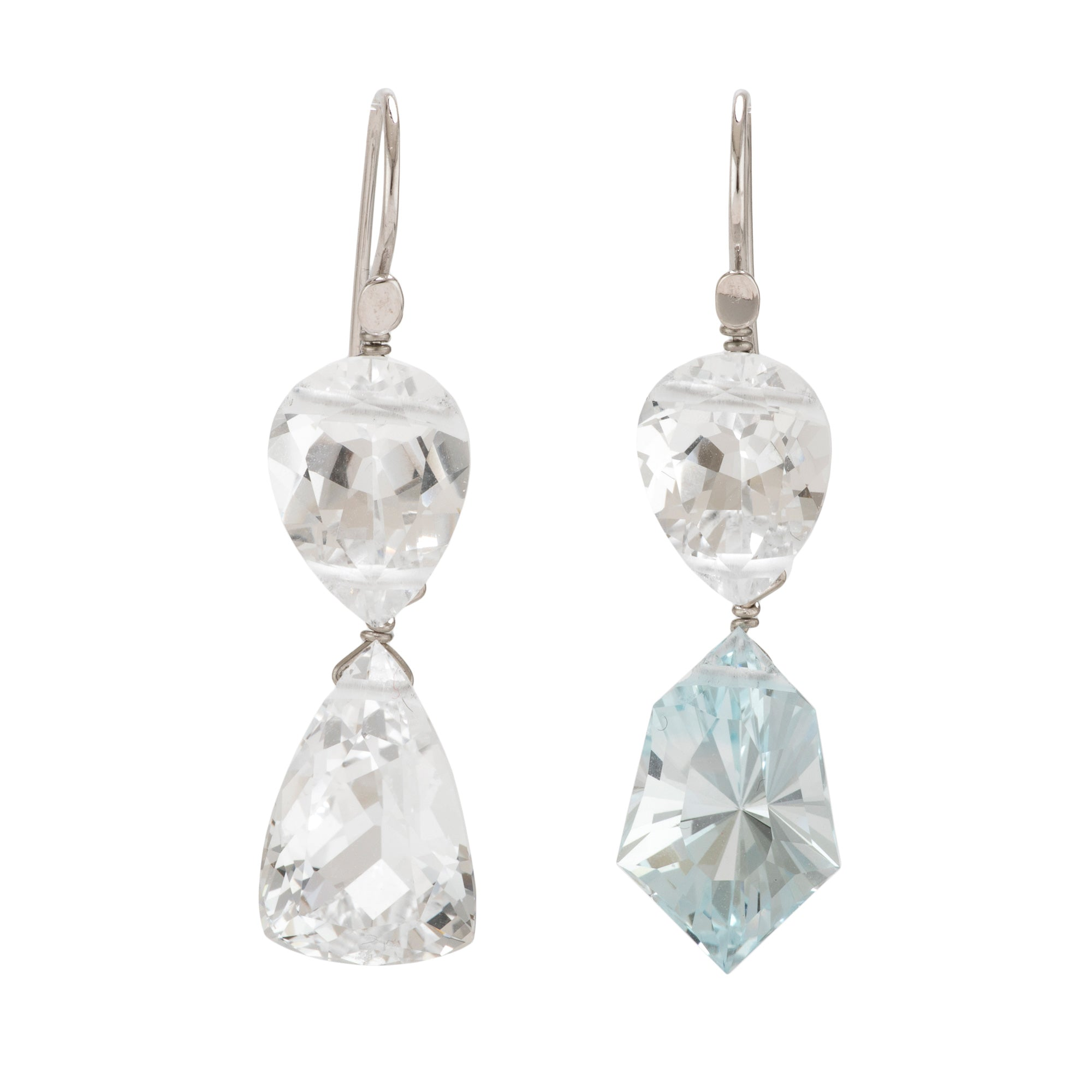 winter II topaz earrings