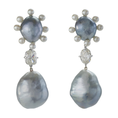 ANTOINETTE XI pearl earrings