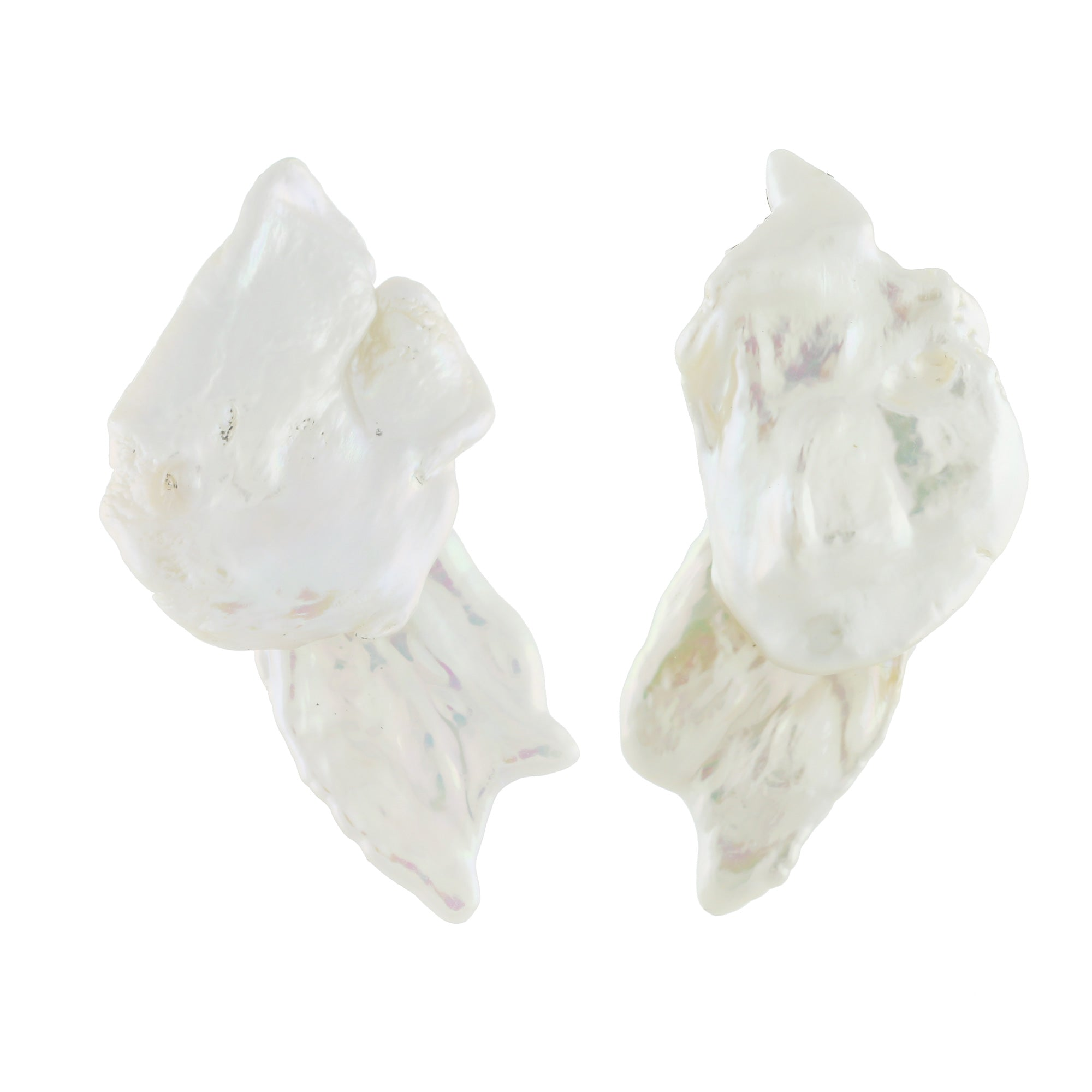 Wing ii pearl earrings