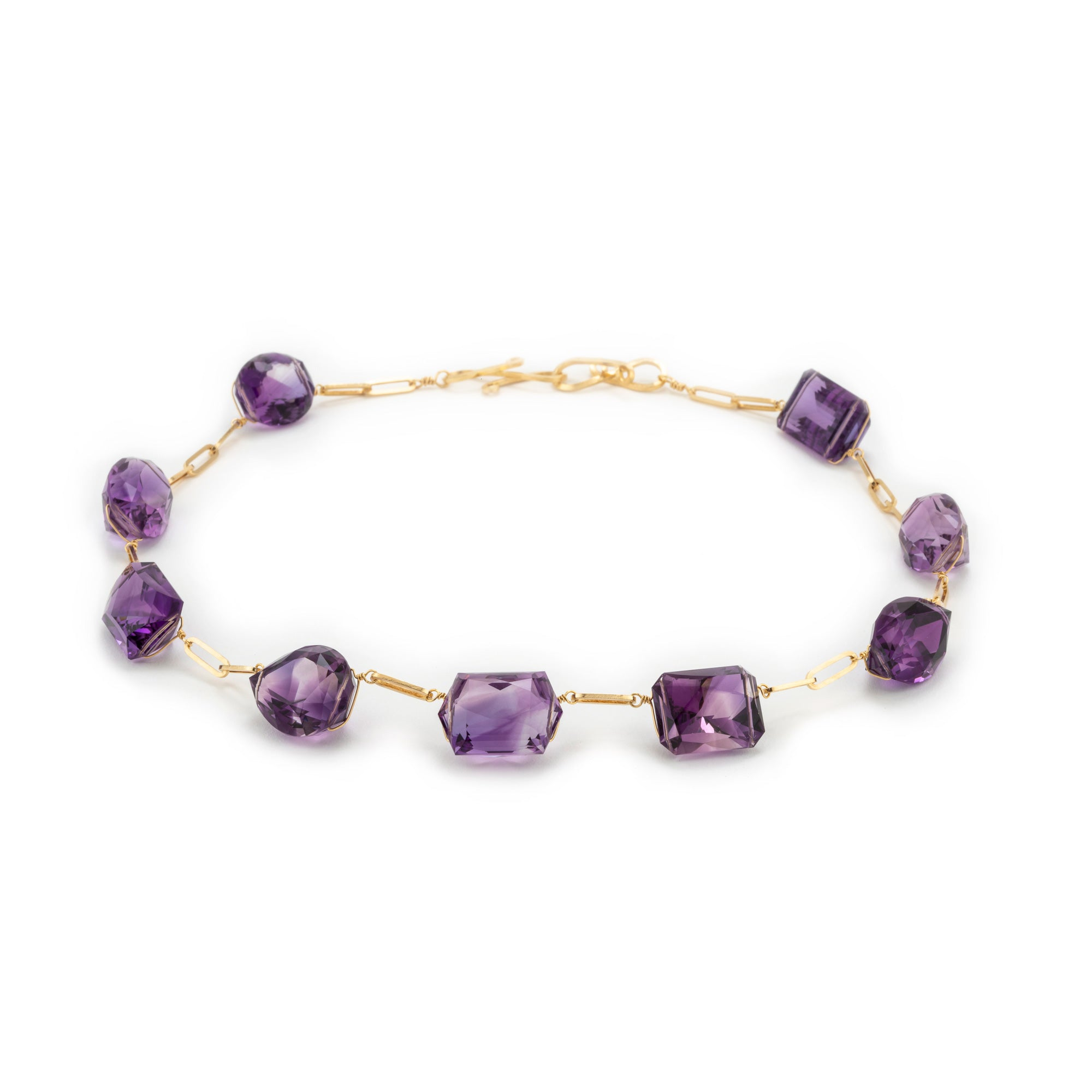 Grace ix amethyst necklace