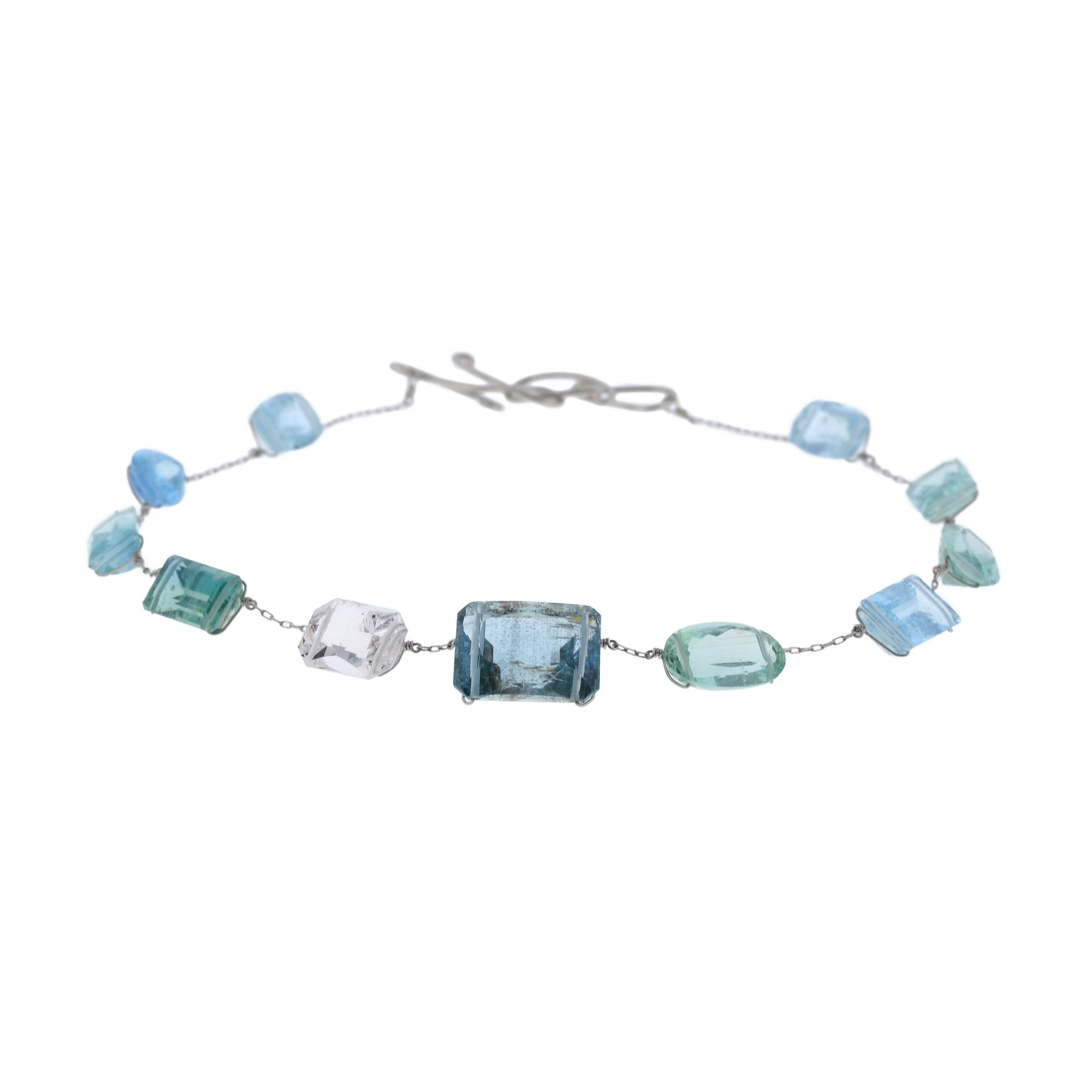 silver aquamarine and pin bracelet sterling heliotrop spiritual bloodstone