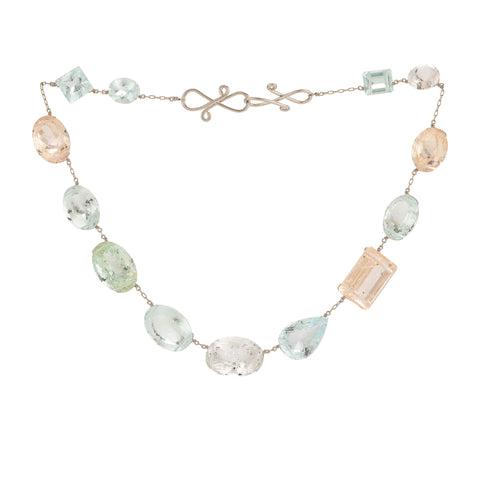 GRACE XIII aquamarine necklace