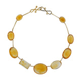 Grace IX citrine necklace
