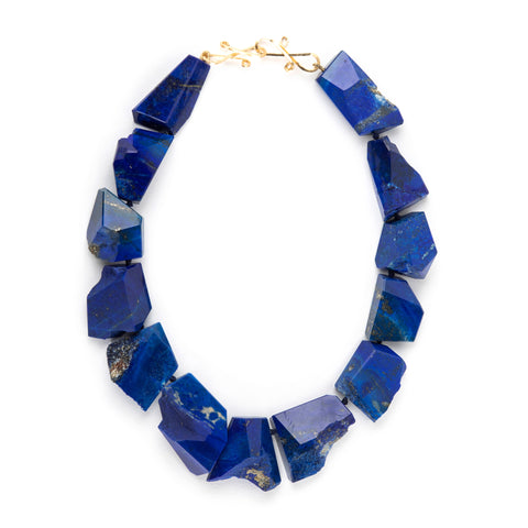HIMALAYA XII lapis necklace
