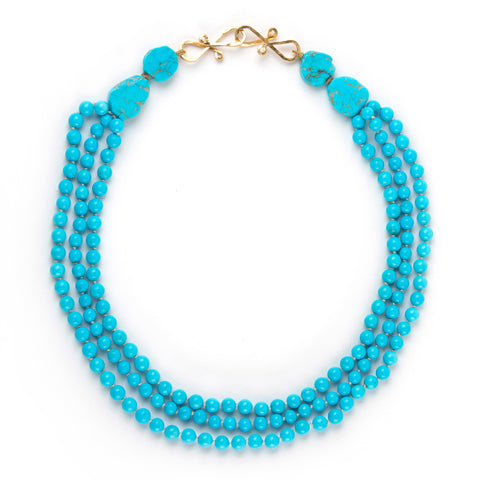 KINGMAN trio Turquoise necklace