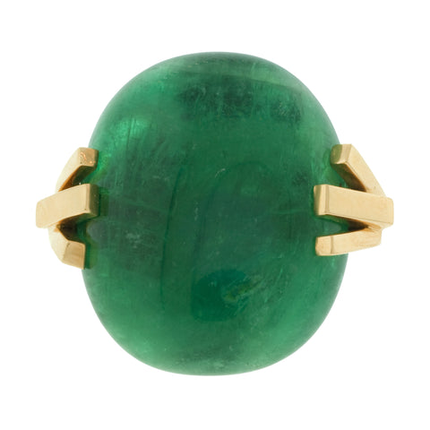 burst i emerald ring