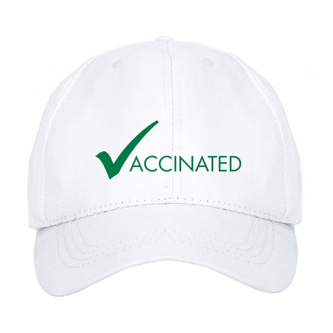COVID-19 Vaccinated hat