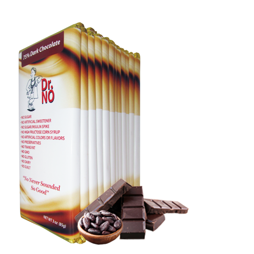 75% Dark Chocolate 12 Pack